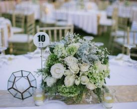centerpiece round table
