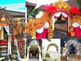 dekorasi pernikahan Bali