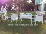 reception table set