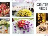 center piece dinner wedding
