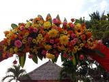 flower detail entrance gate