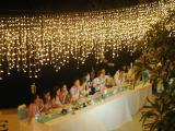 fairy light curtain