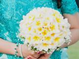 Round Bouquet frangipani
