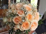 Round Bouquet Mix rose and baby breath