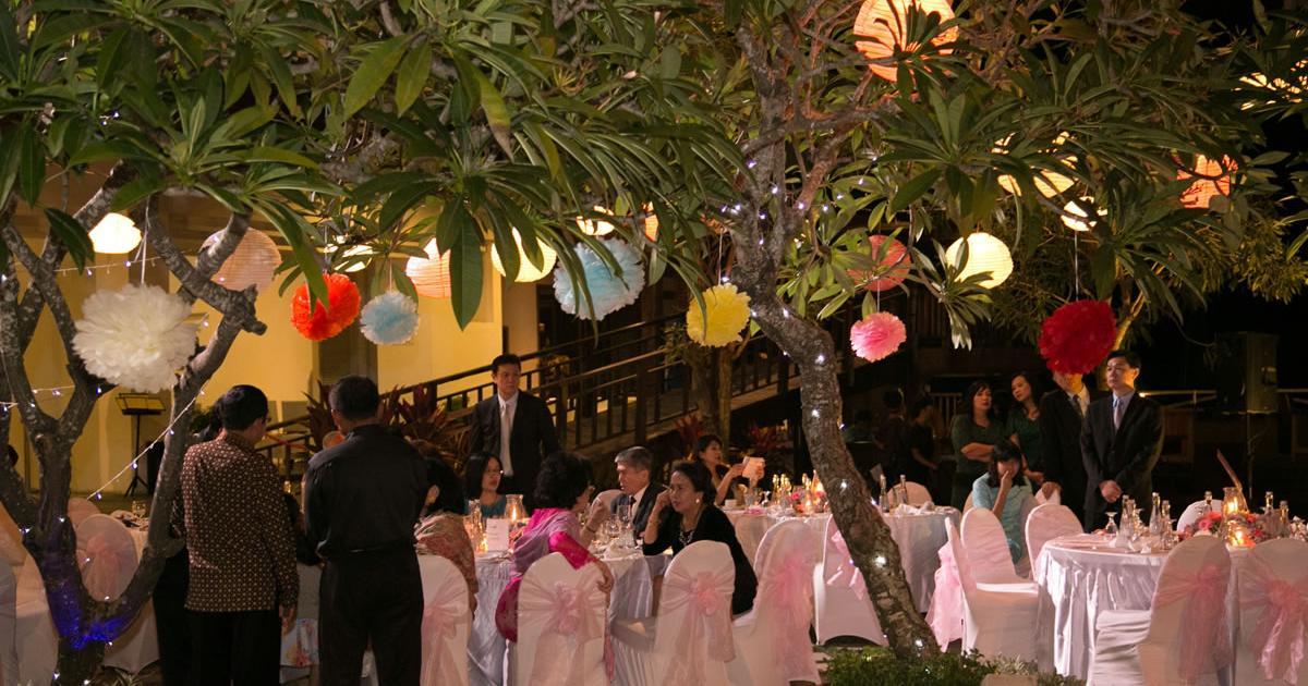 Wedding decoration klapa